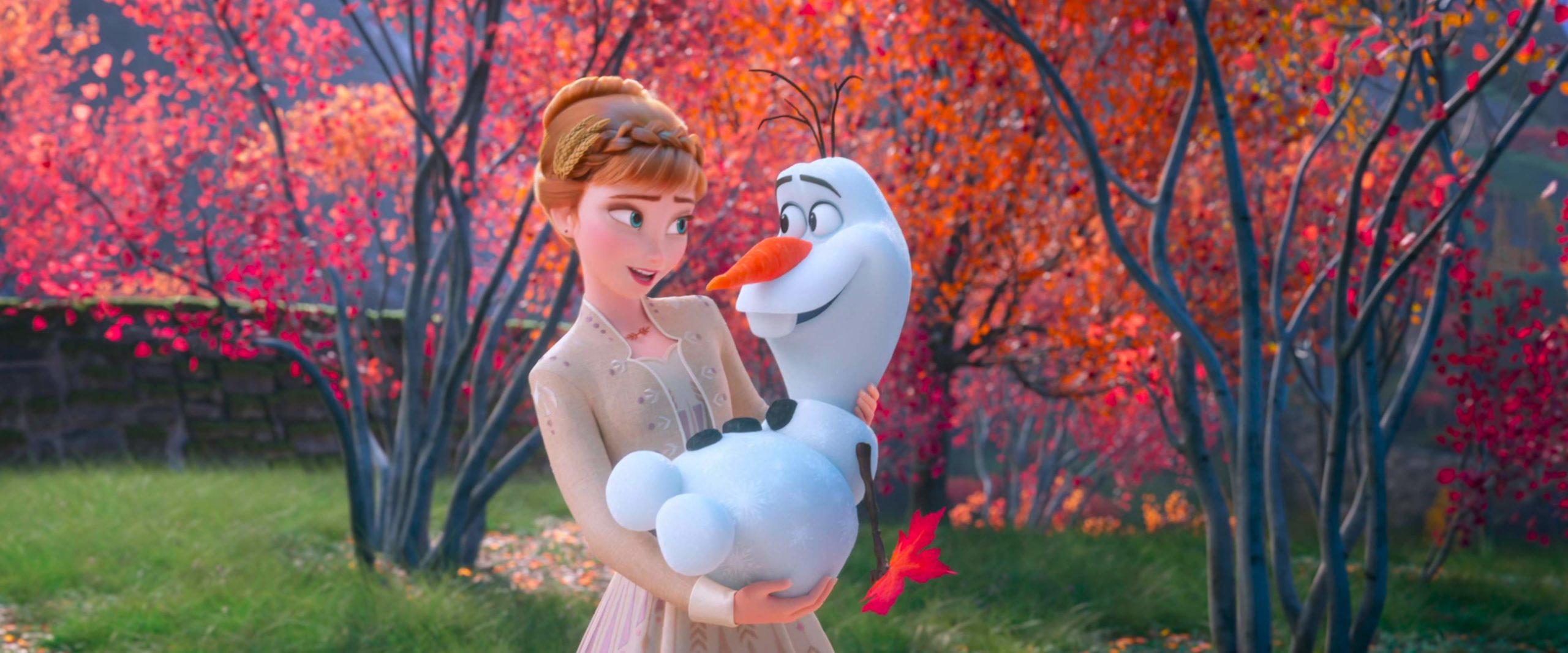 Ana e Olaf