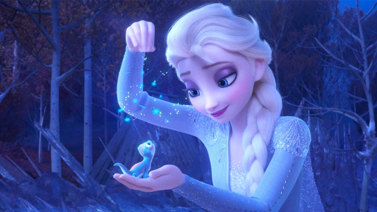 Elsa e a salamandra Bruni