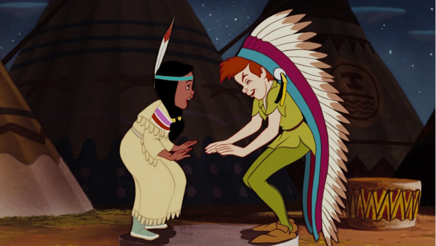 Peter Pan e Tigrinha