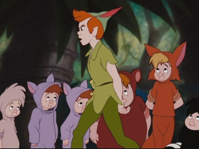 Peter Pan e os meninos perdidos