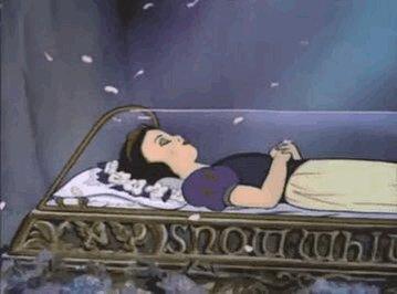 Branca de neve  Adormecida  Filme Branca de Neve e os 7 anões
